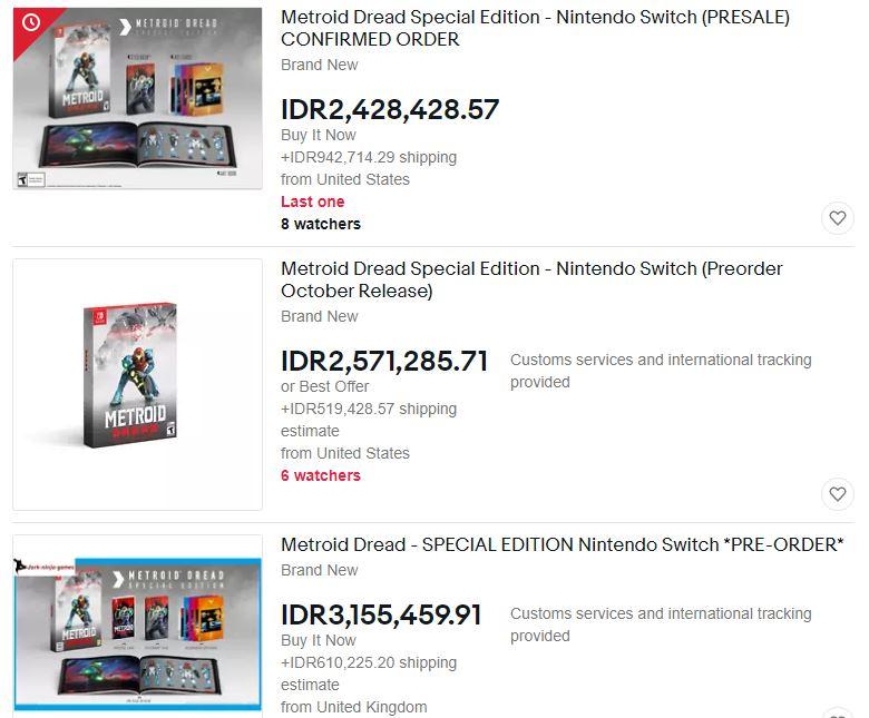 Belum Rilis, Versi Fisik Metroid Dread Habis Total Dan Dijual 2 Juta Oleh Scalpers   Nintendo