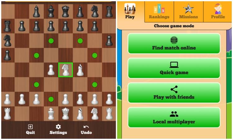Chess Online Duel Friends Online 1