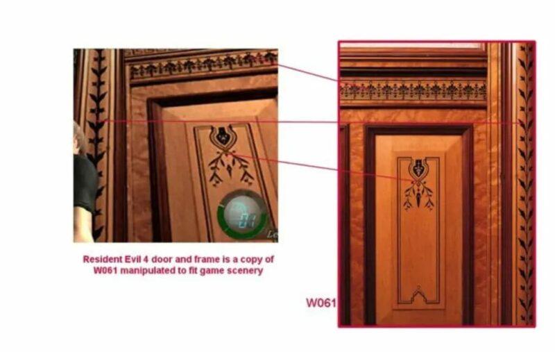 Desain Pintu Resident Evil 4