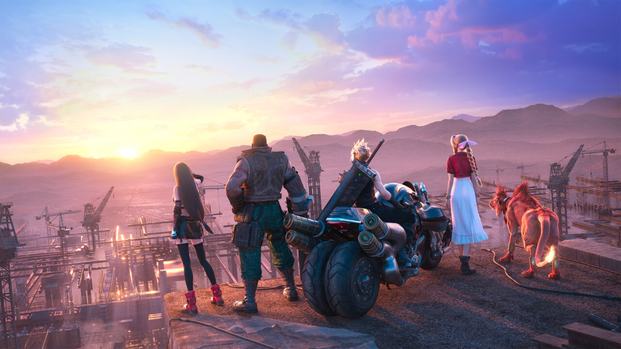 Final Fantasy VII Remake Epic Games Store