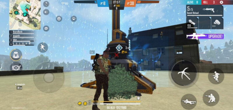 Gameplay Stronghold Free Fire