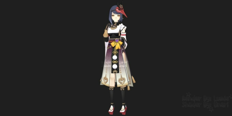 Kujou Sara Genshin Impact