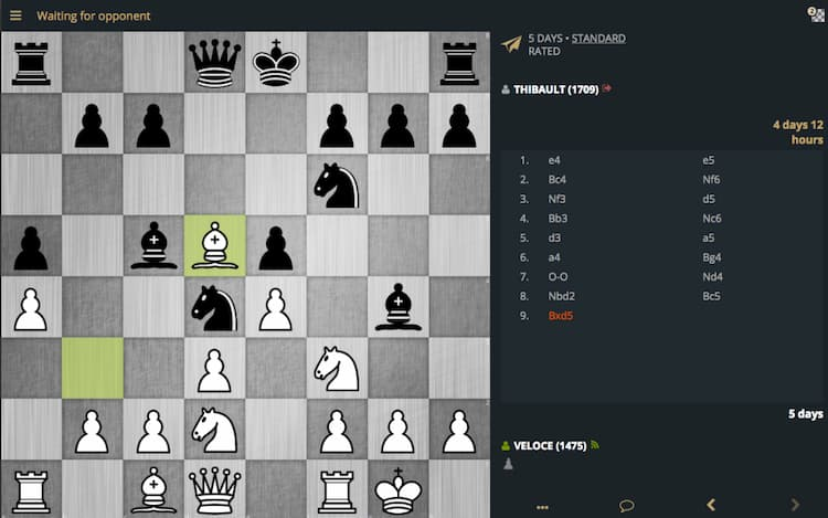 Game Catur online android Lichess