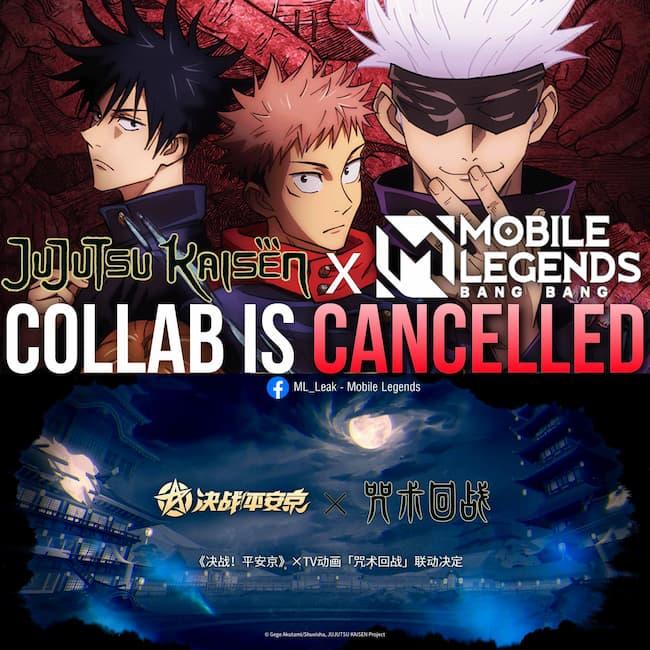 Mobile Legends Batal Kolaborasi Dengan Jujutsu Kaisen