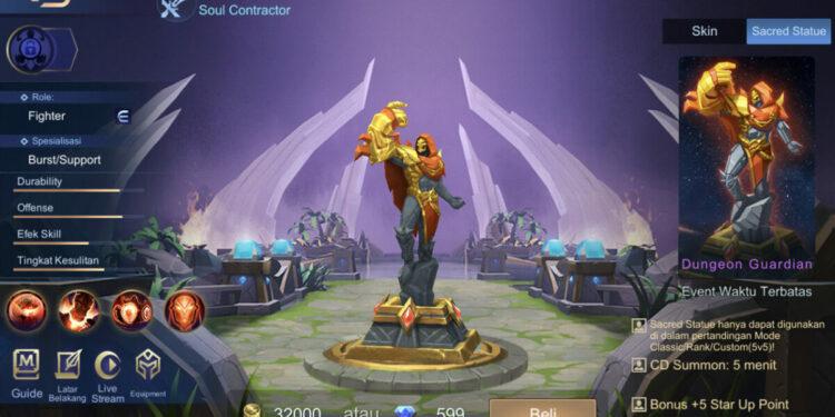 Sacred Statue Mobile Legends