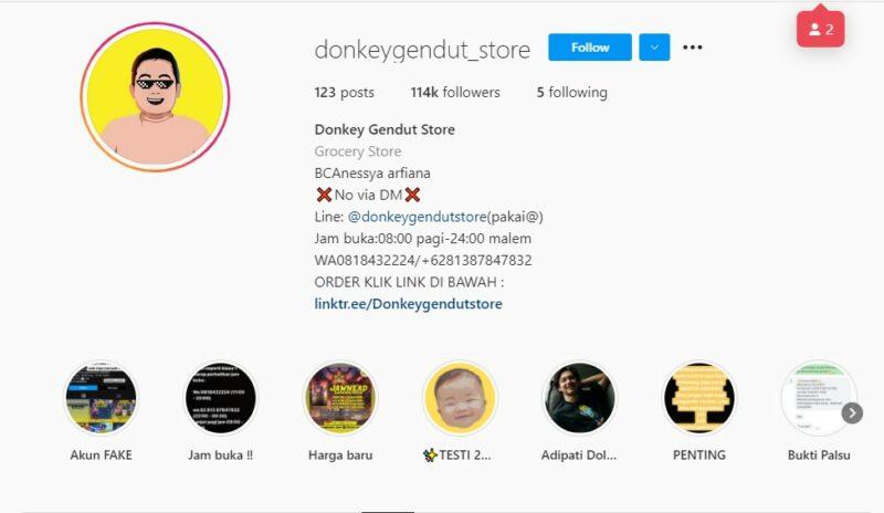 Donkey Gendut Store