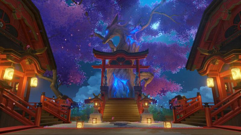 Inazuma Shrine of Depths
