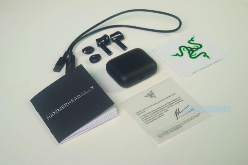 Razer Hammerhead True Wireless X Box Isi Gamedaim Review