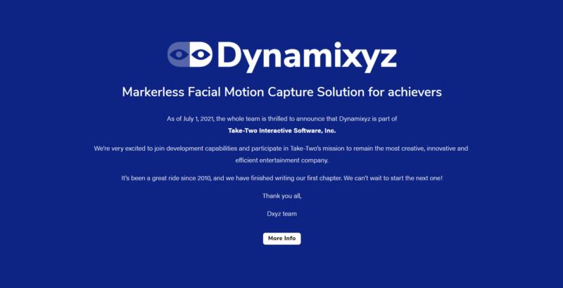 Take-Two Interactive Akuisisi Dynamixyz