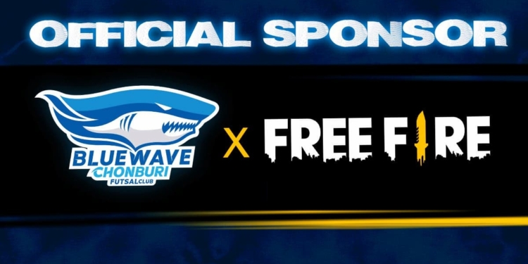 Setelah Persis Solo, Kini Free Fire Jadi Sponsor Tim Futsal Thailand Chonburi Bluewave