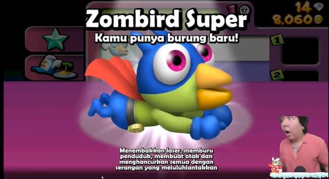 Windah Basudara Tamatkan Zombie Tsunami