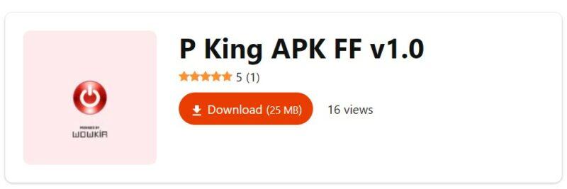 Download P King Apk Ff