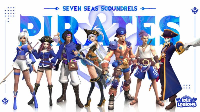 Idle Legions Yoozoo Games Seven Seas Scoundrels