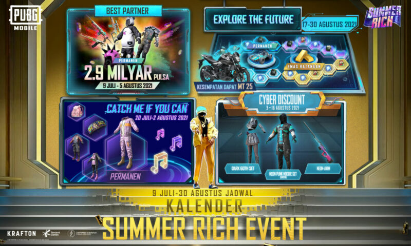 Pubg Mobile Summer Rich Event Schedule