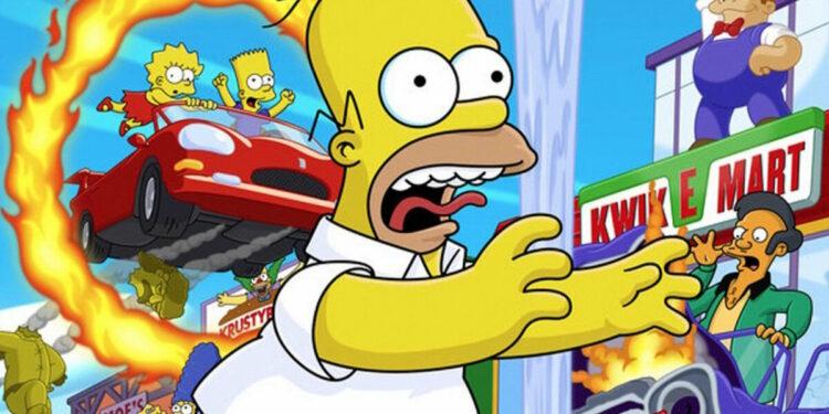 Produser The Simpsons Tertarik Dengan Hit & Run Remaster   Radical Entertaintment