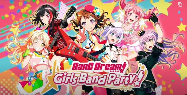 Bang Dream Girl Band Party