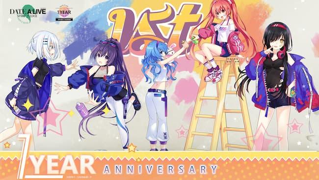 Game Anime Offline Date A Live Spirit Pledge