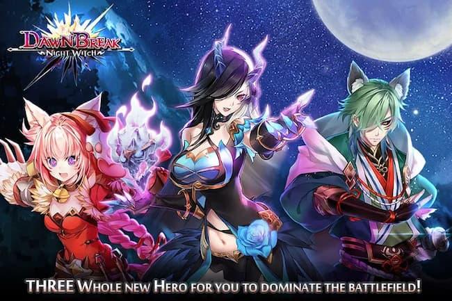 Game Anime Offline Dawn Break Night Witch