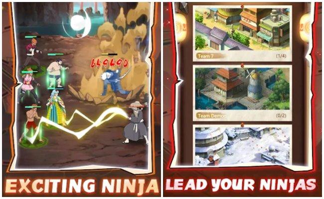 Game Naruto offline Last Ninja Iddle Adventure