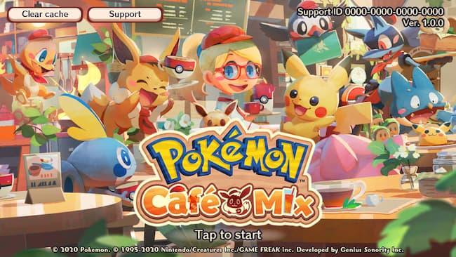Game Anime Offline Pokemon Cafe Mix