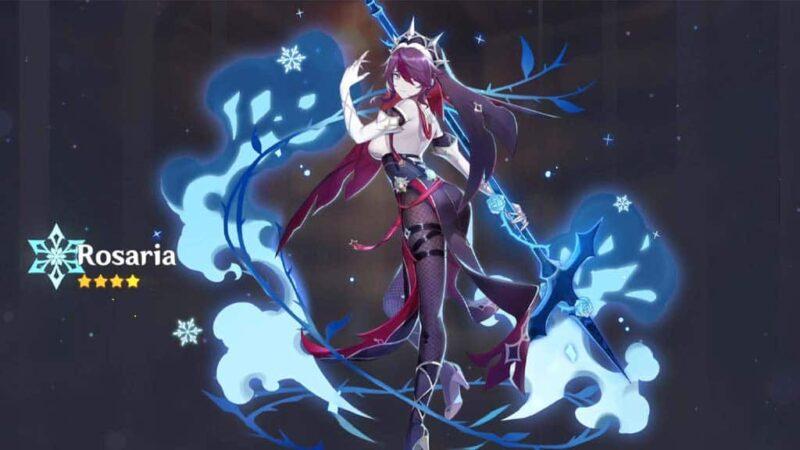 Rosaria Build Genshin Impact