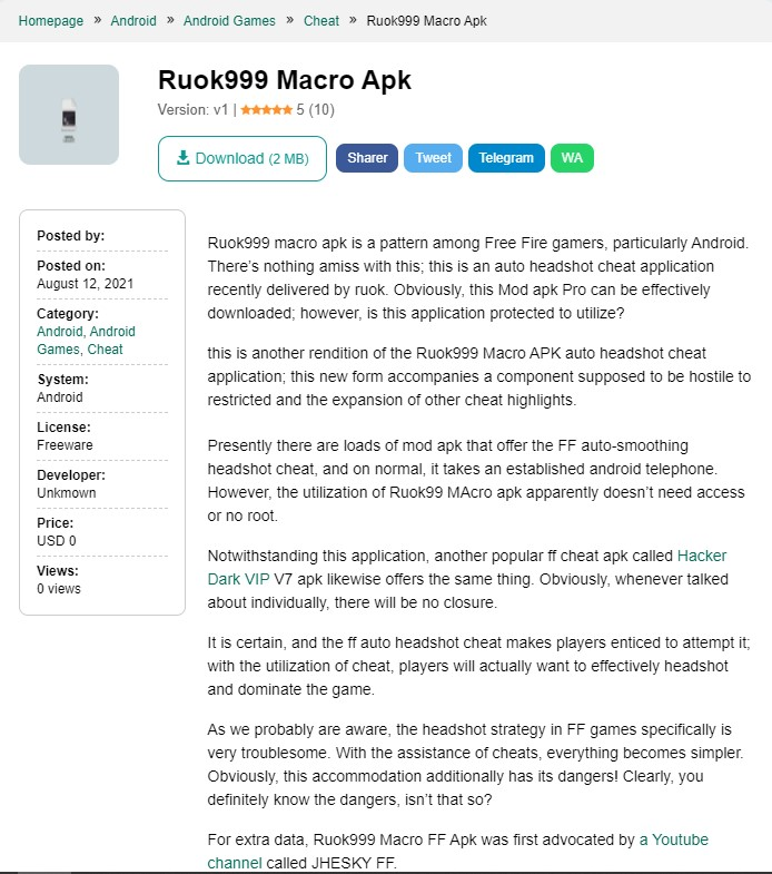 Ruok999 Download