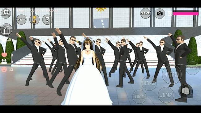 Game Anime Offline Sakura Shool Simulator