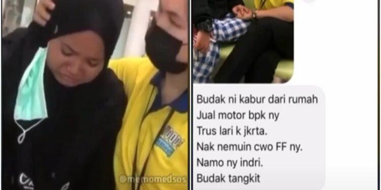 Sempat Viral Saat Jual Motor Ayah Demi Jumpai Teman Mabar Ff, Gadis Jambi Itu Kabur Kembali