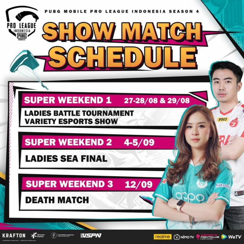 Showmatch Schedule