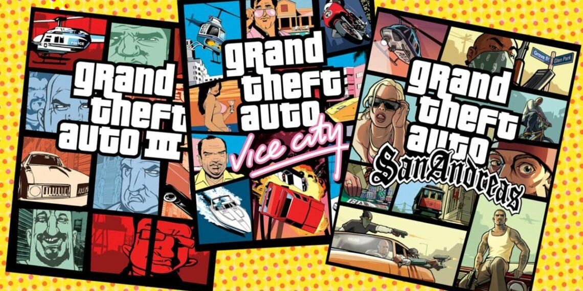 Rockstar GTA Remastered Trilogy