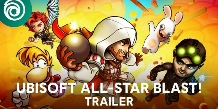 Ubisoft All Star Blast Puts Sam Fisher Ezio And Rabbids In A Bomberman Style Battle Royale