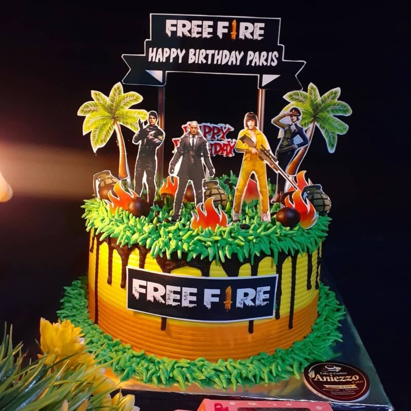 Kue ultah Free Fire