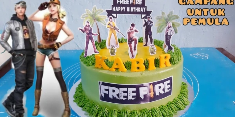 25+ Ide Gambar Kue Ultah Bertemakan Ff (free Fire)