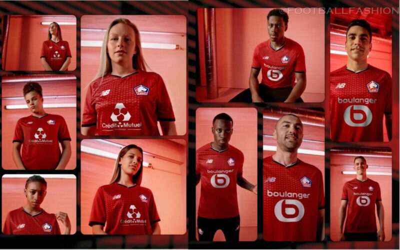 Lille Osc - Jersey PES Mobile 2021