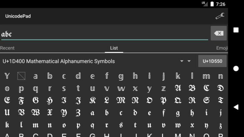 Unicode Pad Nickname FF kosong