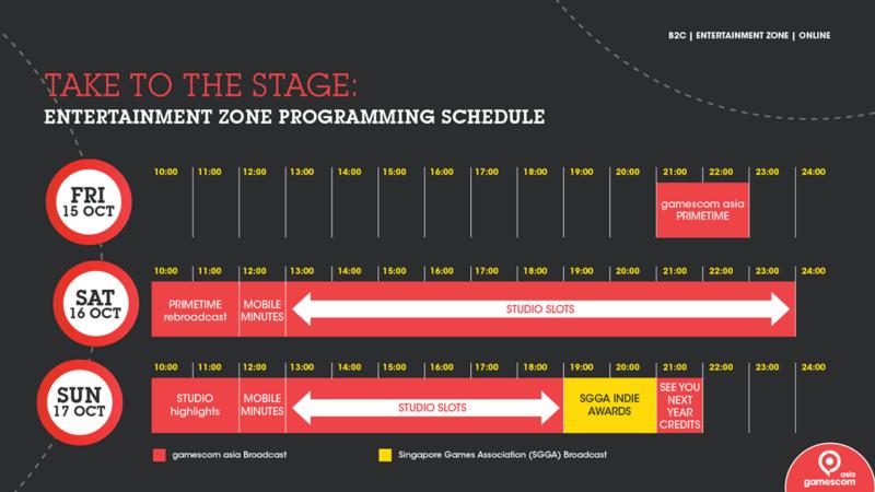Gamescom Asia 2021 Consumer Programme