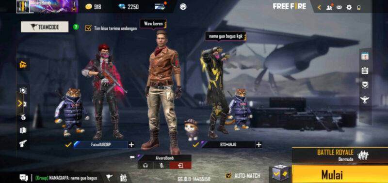 Lobby Chat Ff