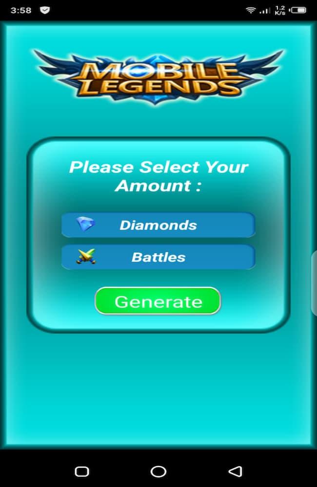 Apk Diamond Ml Gratis 10000