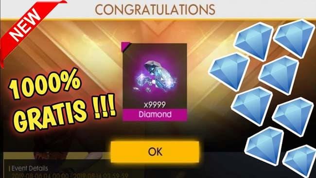 Diamond Ff Gratis 99 999 Tanpa Apk