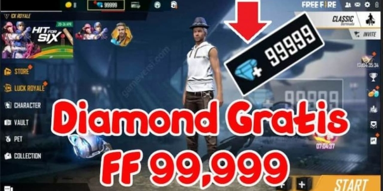 Diamond Gratis Ff 99,999 Tanpa Apk Terbaru 2021