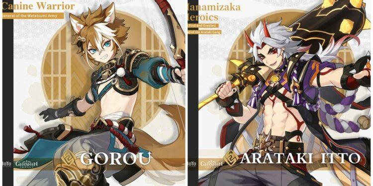 Gorou And Arataki Itto