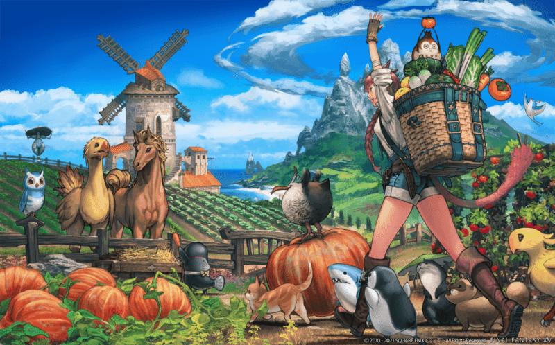 Final Fantasy XIV: Endwalker Stardew Valley