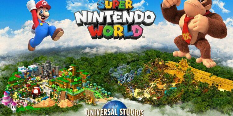 Taman Hiburan Super Nintendo World Akan Diperluas Dengan Area Donkey Kong | Nintendo